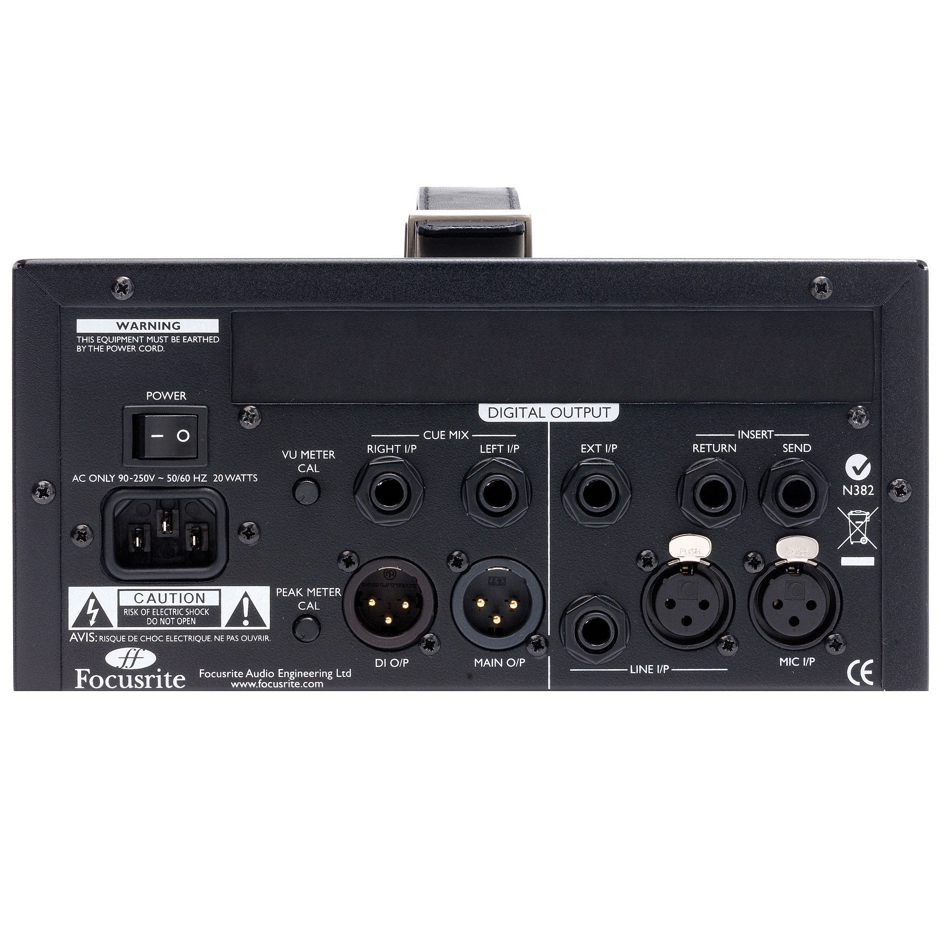 Focusrite ISA One Classic Microphone Pre-amplifier with Independent DI