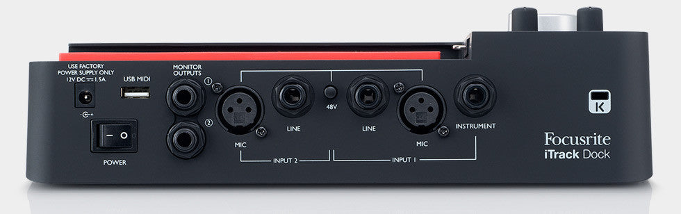 Focusrite iTrack Dock