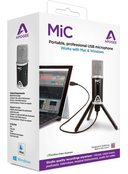 Apogee MiC 96k for Windows and Mac
