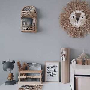 natural wall organizer