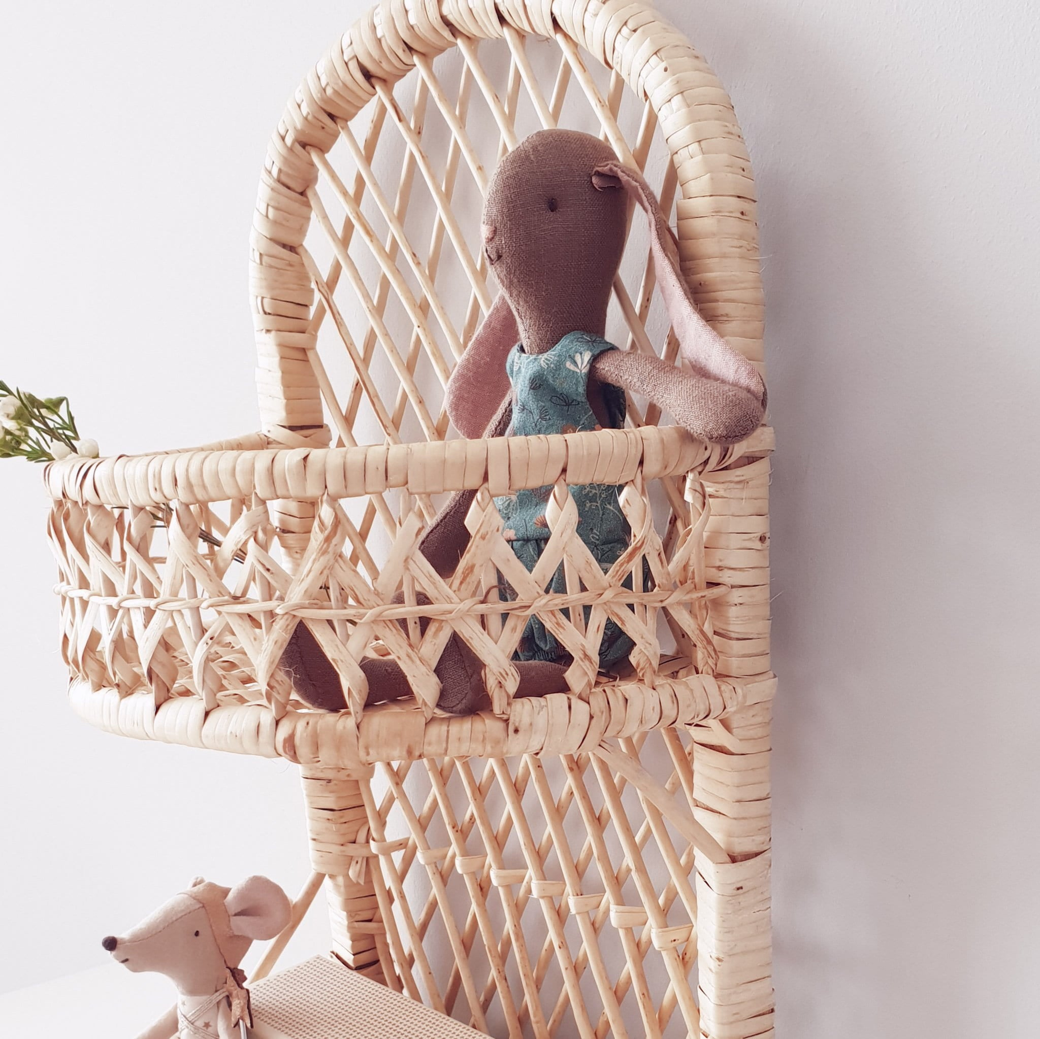rattan organizer for the kids room