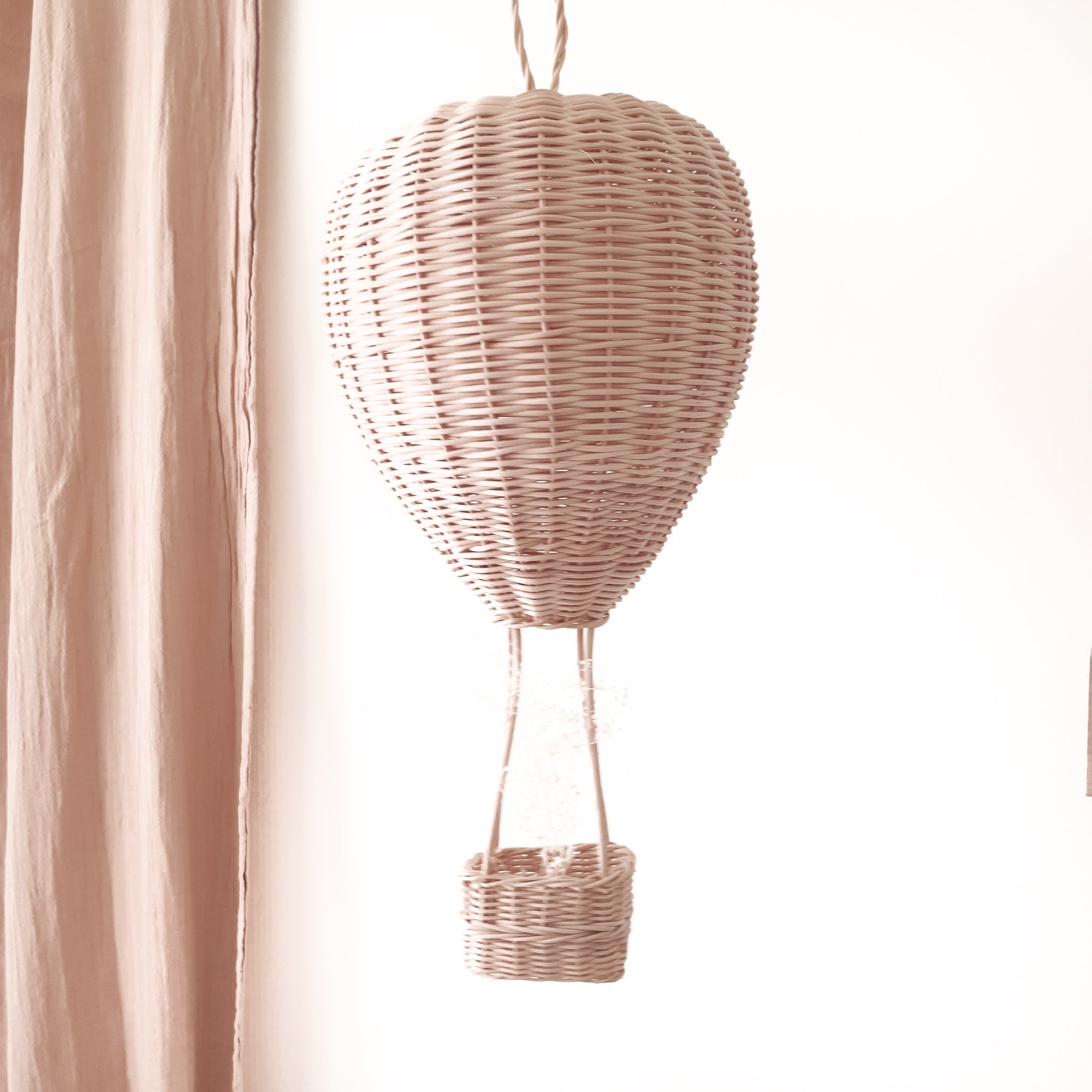 rattan kids decor