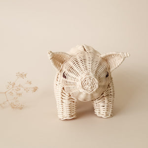 rattan money piggy bank coconeh