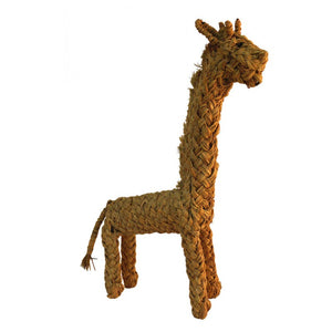 toy  decoration jiraffe rattan wicker grass handmade coconeh