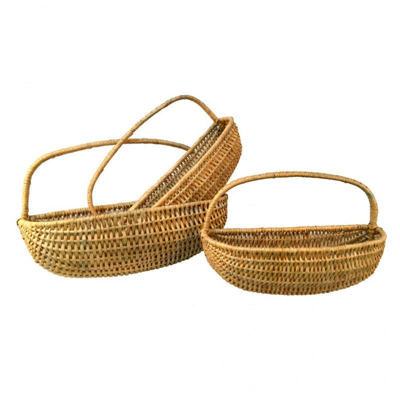 wall wicker baskets coconeh