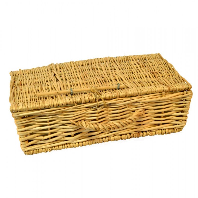 Wicker Box With Lid