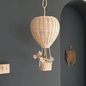 rattan hot air ballon coconeh