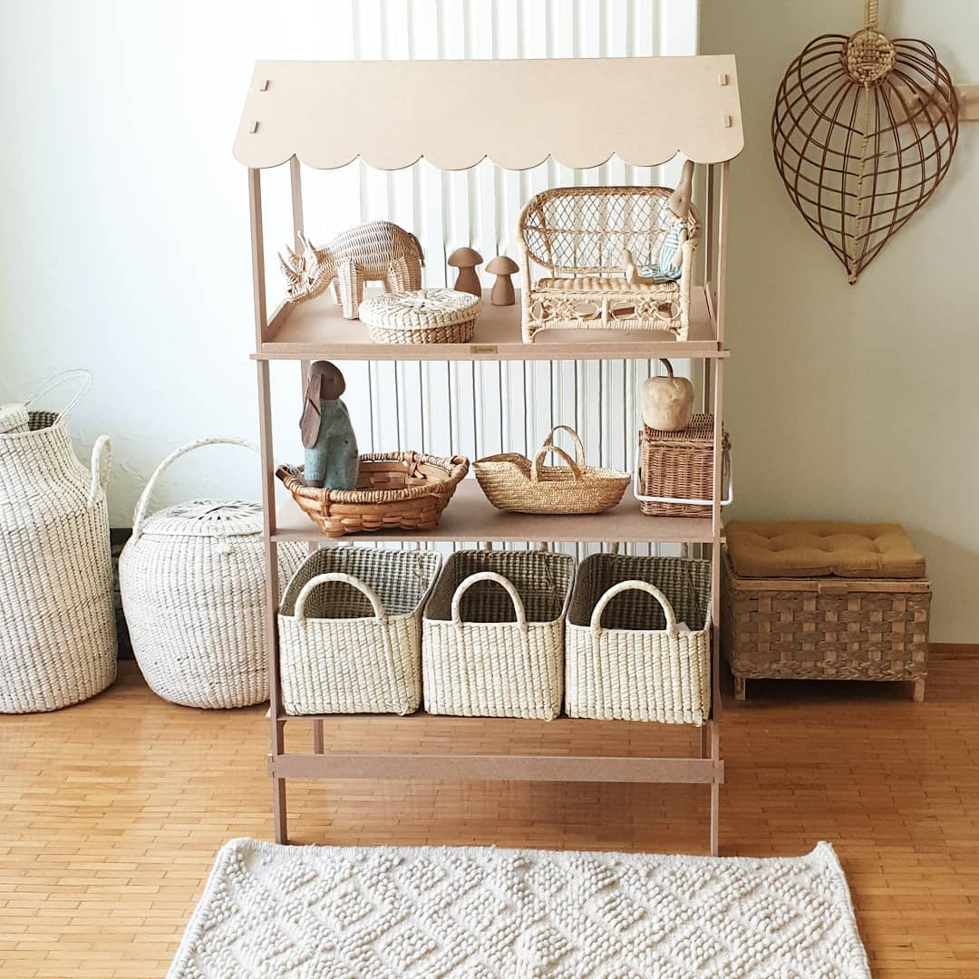 baskets and kids rooms natural decoration coconeh