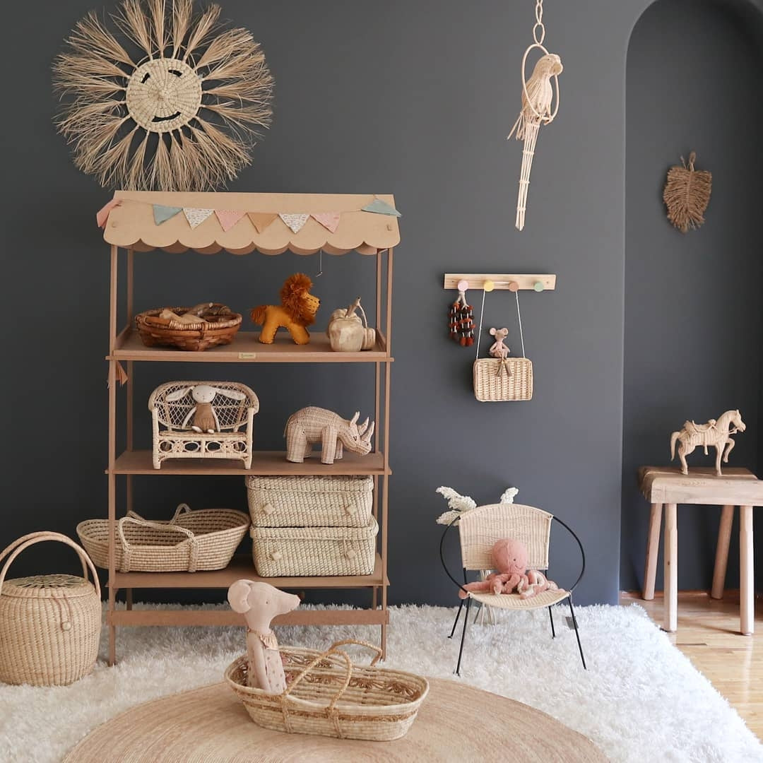 rattan decoration kids