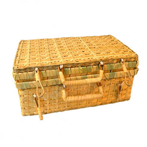 wicker suitcase coconeh