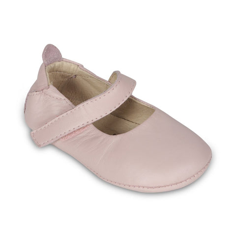 "Old Soles ""Gabrielle"" Mary Jane Powder Pink"