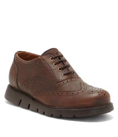 "Vince Camuto ""Warble"" Wingtip Oxford Brown"