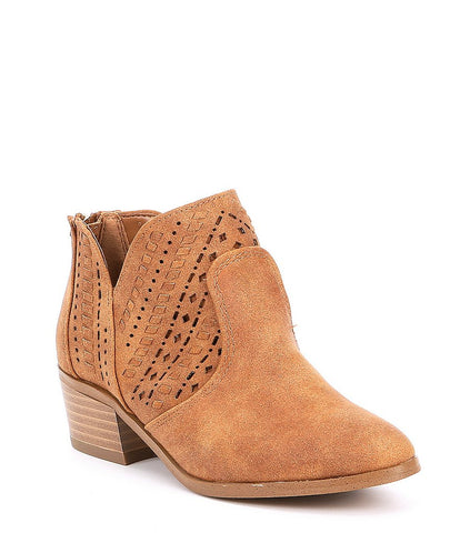 Vince Camuto Walnut Ankle Boot