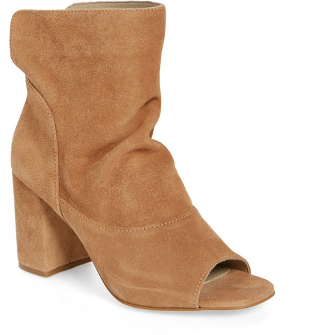 "Matisse Women's ""Gordy"" Peep-Toe Bootie Natural"