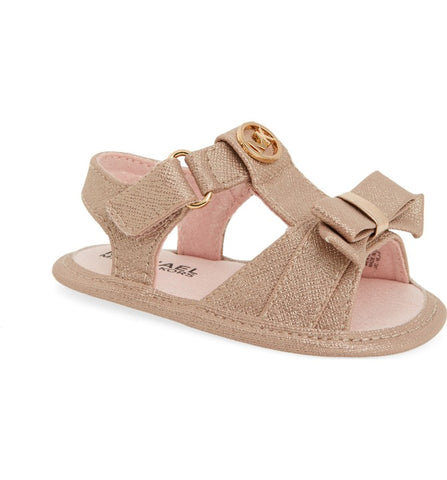 "Michael by Michael Kors ""Baby Ada"" Sandal Pink/Gold"