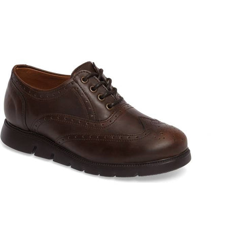 "Vince Camuto ""Warble"" Wingtip Oxford Dark Brown"