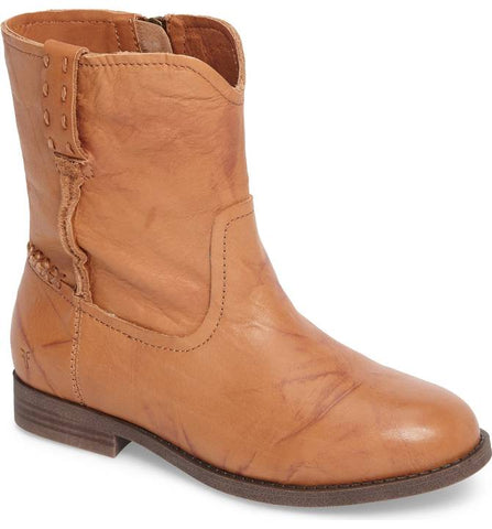 "Frye Kids ""Campus Short"" Bootie in Sunrise"