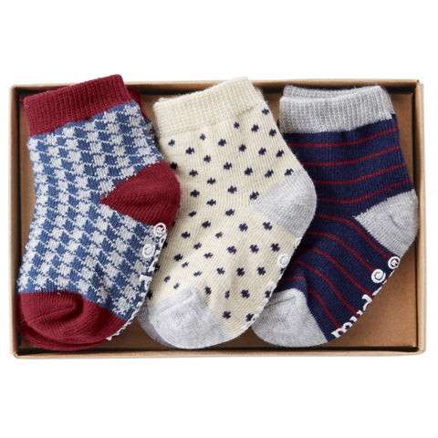 Mud Pie Holiday Best Sock Set