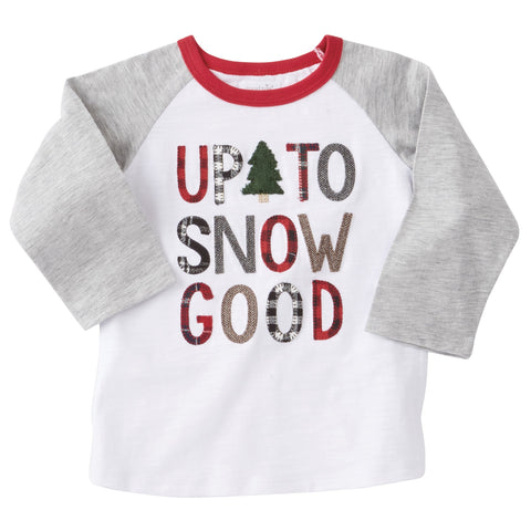 "Mud Pie ""Up To Snow Good"" Shirt"