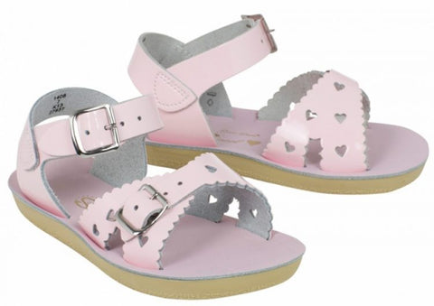 "Salt Water Sandal ""Sweetheart"" Sandal Shiny Pink"