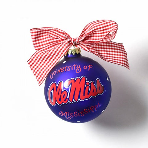 "Coton Colors Ole Miss ""Hotty Toddy"" Ornament"