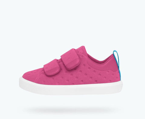"Native ""Monaco Velcro"" Hollywood Pink/Shell White"