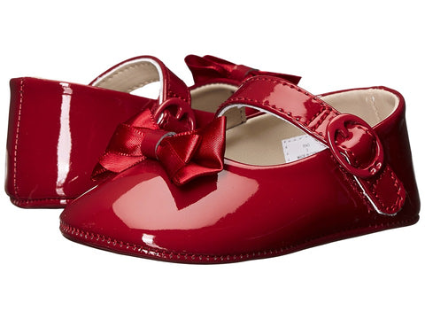Baby Deer Mary Jane Red Patent