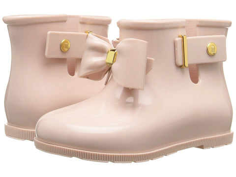 "Mini Melissa ""Sugar Rainbow"" Boot Light Pink"