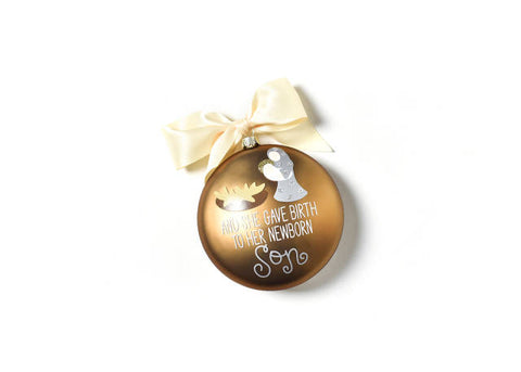 "Coton Colors ""Luke 2:7"" Ornament"