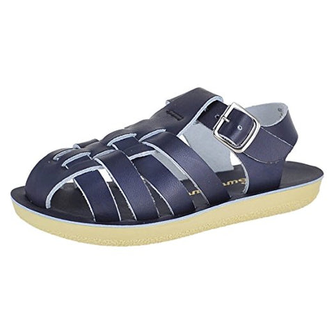 "Salt Water Sandal ""Sailor"" Sandal Navy"
