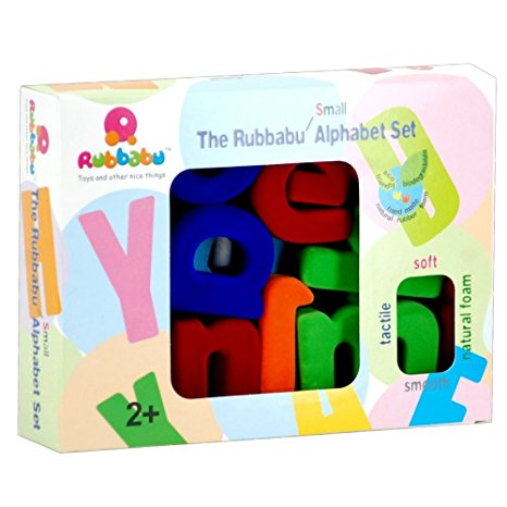 Rubbabu Small Alphabet Set