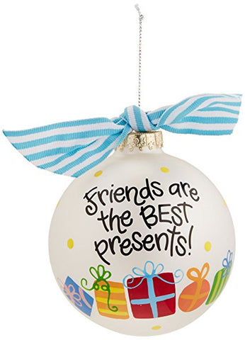 "Coton Colors ""Friends Are The Best Presents"" Ornament"