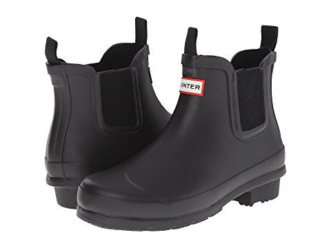 "Hunter Juniors ""Chelsea"" Boot Black"