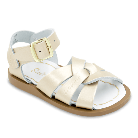 "Salt Water Sandal ""Swimmer"" Sandal Gold"