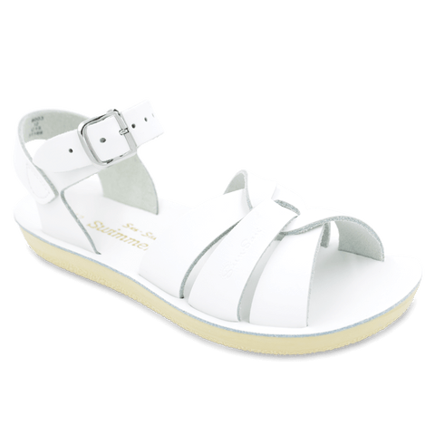 "Salt Water Sandal ""Swimmer"" Sandal White"