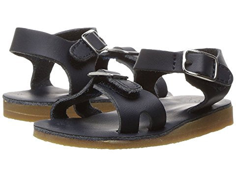 "Baby Deer ""Lea"" Sandals Navy"