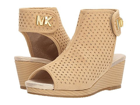"Michael by Michael Kors ""Cate Foe"" Wedge Sandal Cognac"