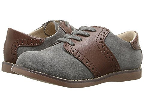 "FootMates ""Conner"" Steel/Cognac"
