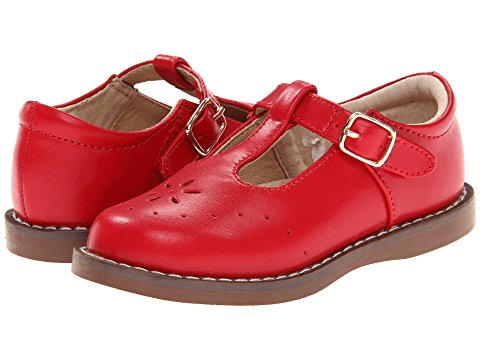 "FootMates ""Sherry"" Apple Red"