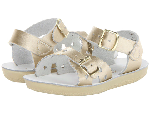 "Salt Water Sandal ""Sweetheart"" Sandal Gold"