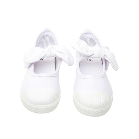 "Chus ""Athena"" Mary Jane Sneaker White"