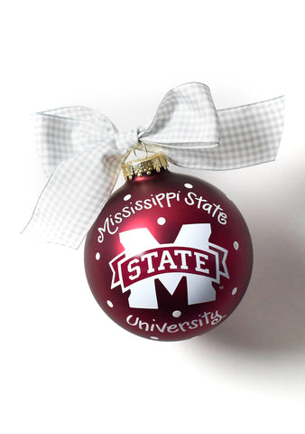 Coton Colors MSU Logo Ornament