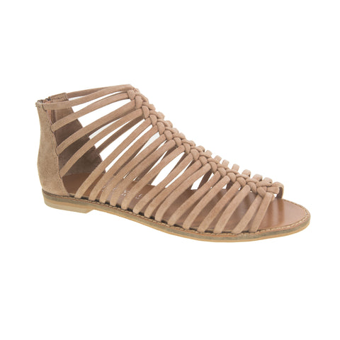 "Chinese Laundry Women's ""Bliss"" Tan Strappy Sandal"