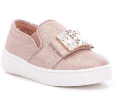 "Michael by Michael Kors ""Ivy Cara"" Slip-On Sneaker Rose Gold"