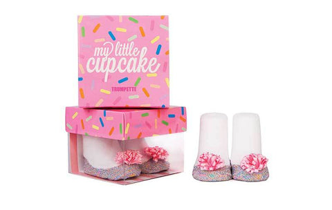 "Trumpette ""My Little Cupcake"" Socks"