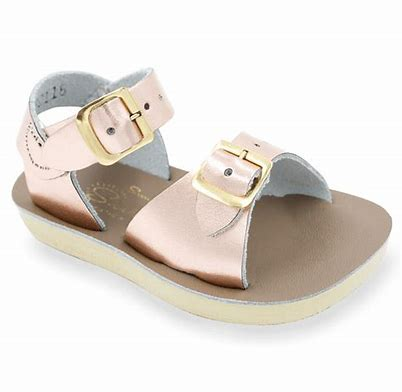 "Salt Water Sandal ""Surfer"" Rosegold"