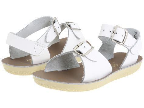 "Salt Water Sandal ""Surfer"" Sandal White"