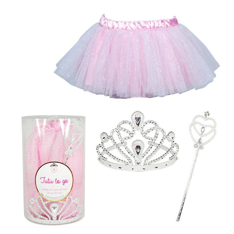 "Pink Poppy ""Tutu-To-Go"" Pink 3-Piece Set"