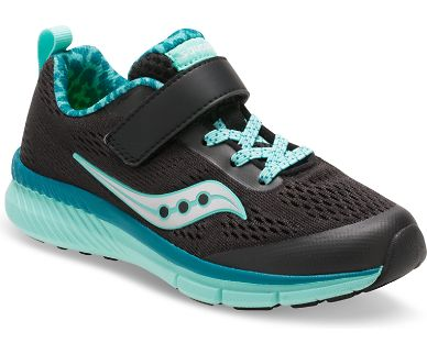 "Saucony ""SY-G Ideal"" Sneaker Black/Turquoise"