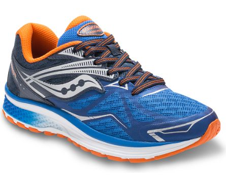 "Saucony ""SY-B Ride 9"" Sneaker Blue/Orange"